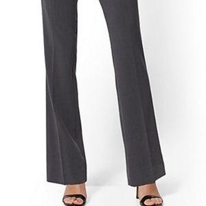 Women's gray bootcut Cassidy pants. Size 10